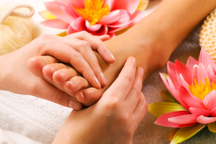 Book a Reflexology treatment in Smalley